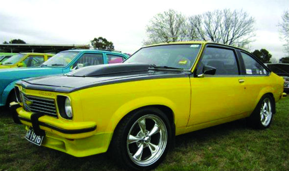 yellow torana